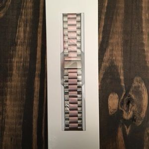 Apple Watch Metal Band Rose gold & Silver 38mm